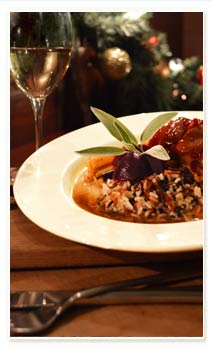 Chicken with Apples, Cranberries and Maple Cider Glaze