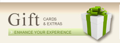 Gift Cards & Extras to Enhance your Stay