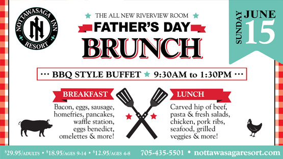 Father's Day Brunch Buffet Dining