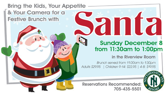 Brunch Buffet with Santa Visit