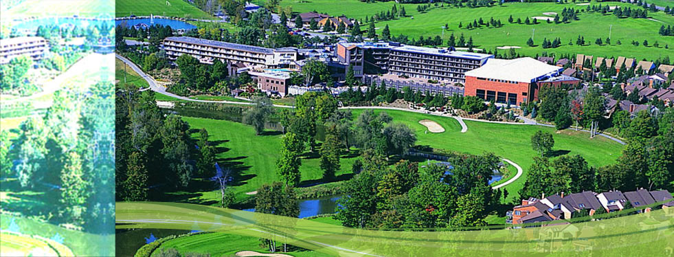 Aerial View of the Nottawasaga Resort